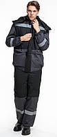 Костюм зимний BRAVO Статус 56-58 182-188 см серый