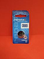 Батарейка Renata Lithium CR2025 3V