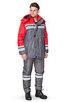 Куртка зимняя BRAVO Карпаты 52-54 170-176 см серый