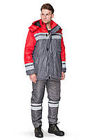 Куртка зимняя BRAVO Карпаты 56-58 170-176 см серый