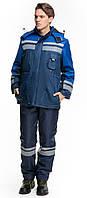 Куртка зимняя BRAVO Карпаты 44-46 170-176 см синий