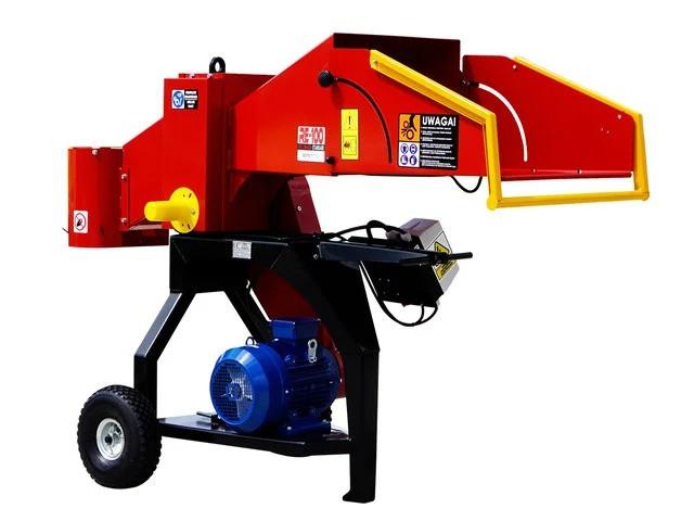Рубильные машины с приводом от электродвигателя