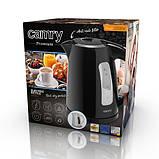 Чайник электрический электрочайник Camry CR 1255 1.7 л Black, фото 6