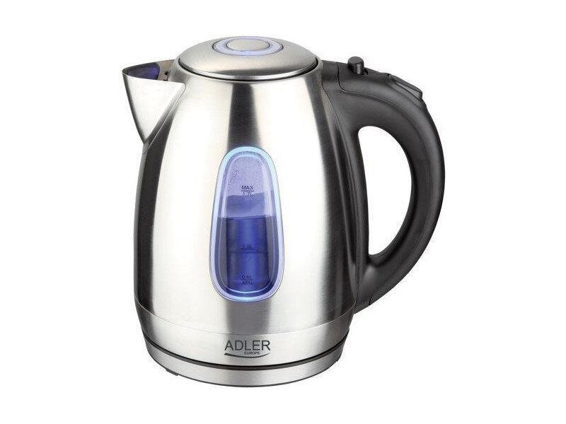 Чайник электрический электрочайник Adler AD 1223 1.7 л Silver