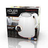 Чайник электрический электрочайник Adler AD 1277 1.7 л Black, фото 7