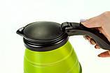 Электрочайник дорожный складной Camry CR 1265 0.5 л Green, фото 5