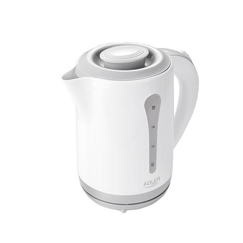 Чайник электрический электрочайник Adler AD 1244 2.5 л White