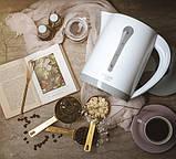 Чайник электрический электрочайник Adler AD 1244 2.5 л White, фото 4
