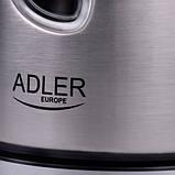 Чайник электрический электрочайник Adler AD 1203 1 л Silver, фото 6