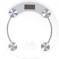Напольные стеклянные электронные весы Domotec MS-2003A до 180 кг, фото 1