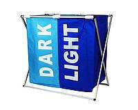 Корзина для белья Stenson R82579 Light&Dark Blue