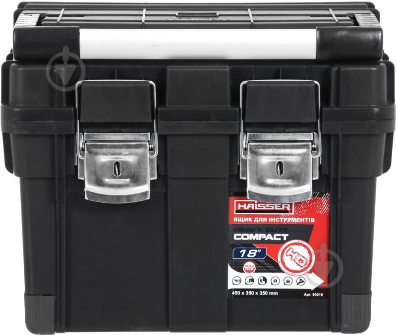 """Скринька для інструментів Haisser HD Compact 1 18"""", 450x350x350 мм (90019)"""