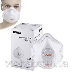 Защитная маска - респиратор (10шт.) / Респиратор с клапаном Uvex 2110 FFP1