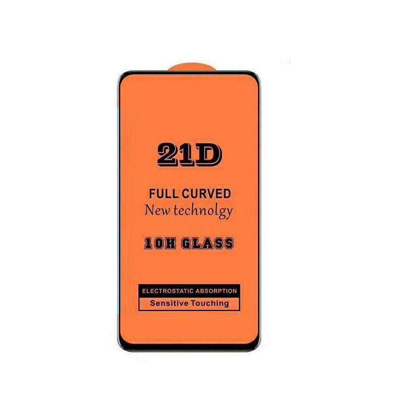 Защитное стекло 21D Full Glue для Xiaomi Mi 9T / Mi 9T Pro черное 0,3 мм в упаковке