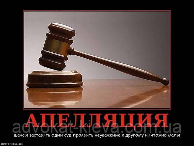 Апеляція Київська область