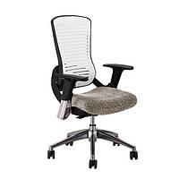 Ортопедическое офисное кресло руководителя Comf-Pro ErgoPro white/grey (CP5 W/G)