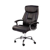 Компьютерное офисное кресло Mustang Black экокожа