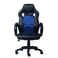 Ортопедическое компьютерное геймерское кресло Chase/black-blue