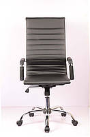 Офисное компьютерное кресло Slim black