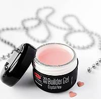 PNB One Phase Builder Gel Crystal Pink (15 ml) Прозрачно-розовый однофазный гель
