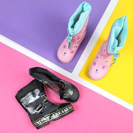 Дитячі гумові чоботи