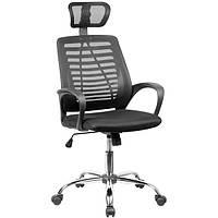 Компьютерное кресло для подростков сетка Butterfly black-black