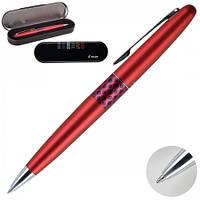 """Ручка шариковая подарочная красный металлический корпус, поворотная """"волна"""" Pilot BP-MR3-M-WV-L-E."""
