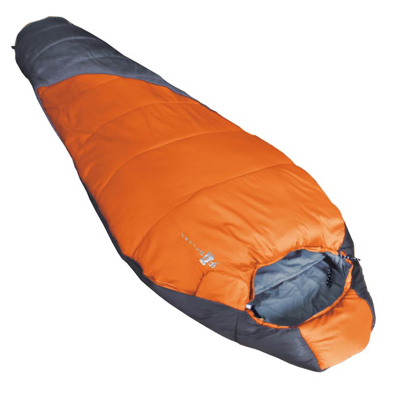 Ультралегкий спальный мешок Tramp Mersey оранж/серый R