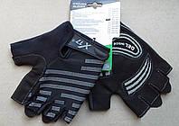 Велоперчатки X17 XGL-578 черные L