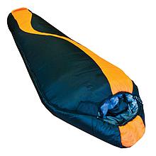 Туристический спальный мешок Tramp Siberia 7000 XXL черно/оранж R