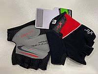 Велоперчатки X17 XGL-511 красные M