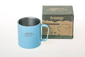 Темокружка Tramp 375 мл голубой TRC-098, фото 2