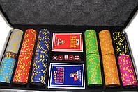 """Набор для покера """"Texas Holdem Poker"""" 300 фишек с номиналом, фото 5"""