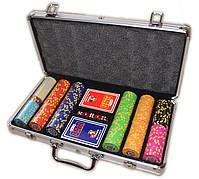 """Набор для покера """"Texas Holdem Poker"""" 300 фишек с номиналом, фото 6"""