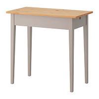 """ИКЕА """"НОРРОСЕН"""" Стол для ноутбука, серый"""
