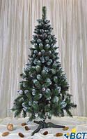 Искусственная елка Iuzva Европейская с шишками 210 см