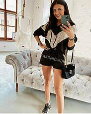 Женский спортивный костюм с пайеками, фото 3