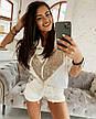Женский спортивный костюм с пайеками, фото 2