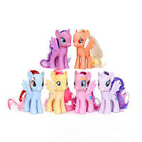 Фигурки Мой Маленький Пони6в1, 8см - My Little Pony