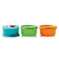 Контейнеры для обедов.Сервировочная чаша (200 мл) 3 шт Tupperware,США