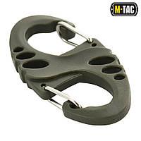 Карабін M-TAC S-HOOK Пластиковий Olive