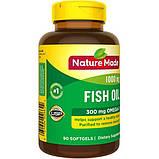 Nature Made Рыбий жир с Омега-3 1000 мг 90 мягких таблеток Fish Oil 1000 mg Softgels 90 Count, фото 3