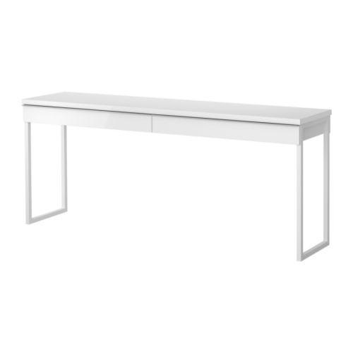 икеа бесто бурс письменный стол глянцевый белый 180 см продажа
