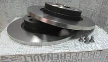 Комплект вентильованих гальмівних дисків Renault Sandero (Original 7701208252)