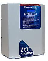 Стабилизатор напряжения однофазный OPTIMUM + 5000 Укртехнология