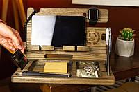 Подставка для телефона, планшета настольный органайзер
