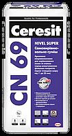Самовыравнивающаяся Смесь Ceresit CN-69 (толщина слоя от 1 до 25 мм),25 кг