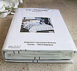 Постельное белье Vie Nouvelle Элегант Cатин евро комплект EL-18, фото 5