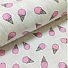 Фланелевая пеленка байковая с начесом Мороженное розовое #2, фото 2