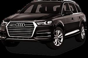 Багажник на интегрированные рейлинги для Audi Q7 2005-2012